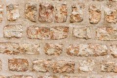 Oude oude bakstenen muur grunge textuur Royalty-vrije Stock Afbeelding