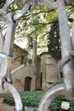 Oude oude kerk in Ravenna, Italië Stock Afbeeldingen
