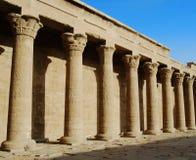 Oude overblijfselen van Egypte royalty-vrije stock foto