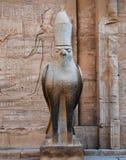 Oude overblijfselen van Egypte stock foto's