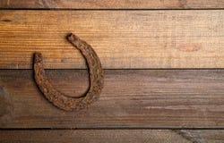 Oude paardschoenen stock foto