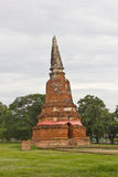 Oude pagode in Ayuthaya Royalty-vrije Stock Fotografie