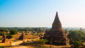 Oude pagode in Bagan, Myanmar Stock Foto's