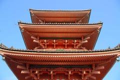 Oude pagode in Japan Royalty-vrije Stock Fotografie