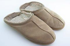 Oude pantoffels Royalty-vrije Stock Afbeeldingen