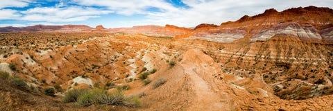 Oude Paria in Zuidelijk Utah Royalty-vrije Stock Foto's