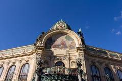 Oude parochiezaal in Praag Royalty-vrije Stock Foto's