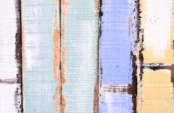 Oude pastelkleur houten panelen stock fotografie