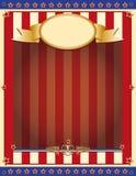 Oude patriottische achtergrond Royalty-vrije Stock Afbeeldingen
