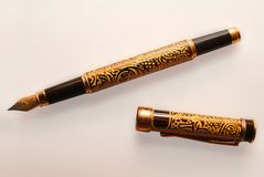 Oude pen royalty-vrije stock foto's