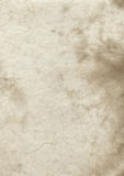 Oude perkamentdocument textuur Stock Foto