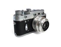 Oude photocamera Stock Afbeeldingen