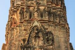 Oude Phra Prang Royalty-vrije Stock Fotografie