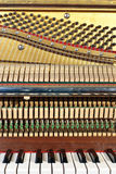 Oude piano Stock Foto
