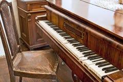 Oude piano. Royalty-vrije Stock Afbeelding