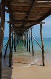 Oude pier Royalty-vrije Stock Fotografie
