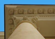 Oude pilar stock afbeelding