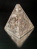 Oude piramide Royalty-vrije Stock Afbeelding