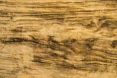 Oude plank met barsten en textuur stock afbeelding