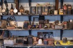 Oude Planken en Kunsten en Ambachtenmaterialen Royalty-vrije Stock Afbeelding