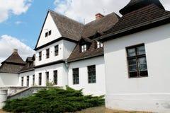 Oude poetsmiddelresidentie - manor stock fotografie