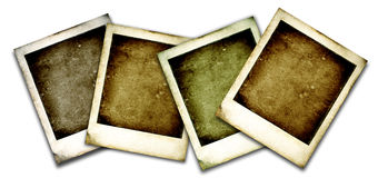 Oude Polaroidcamera Royalty-vrije Stock Afbeeldingen
