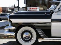 Oude politiewagen Royalty-vrije Stock Afbeeldingen