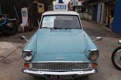 Oude politiewagen Royalty-vrije Stock Foto's