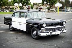 Oude politiewagen Stock Afbeelding