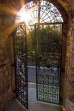 Oude poort Royalty-vrije Stock Foto