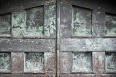 Oude poort Stock Foto's