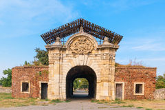 Oude poort Royalty-vrije Stock Afbeelding