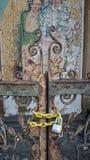 Oude poort Royalty-vrije Stock Afbeeldingen