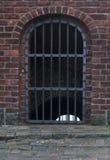 Oude poort aan de oude stad Stock Foto