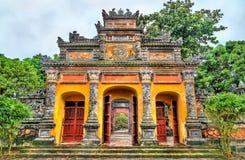 Oude poort bij de Keizerstad in Tint, Vietnam stock foto's