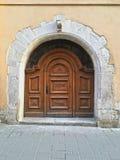 Oude poort in lvov Royalty-vrije Stock Fotografie