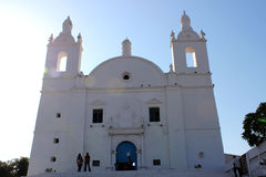 Oude Portugali-Kerk Stock Afbeeldingen