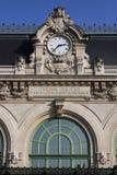 Oude post Brotteaux in Lyon Royalty-vrije Stock Foto's