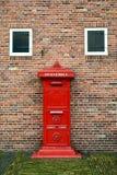 Oude postbus in Amsterdam, Nederland Royalty-vrije Stock Afbeeldingen