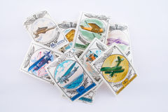 Oude postzegels Stock Afbeeldingen