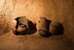 Oude potten Stock Afbeeldingen