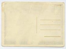 Oude prentbriefkaar Stock Foto's