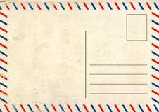 Oude prentbriefkaar Royalty-vrije Stock Foto