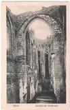 Oude prentbriefkaar tussen 1905-1920 Oybin Stock Fotografie