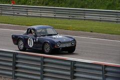 Oude raceauto Royalty-vrije Stock Foto