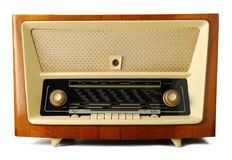 Oude radio Royalty-vrije Stock Foto's