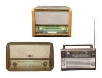 Oude Radio royalty-vrije stock afbeeldingen