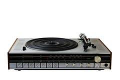 Oude radio-grammofoon royalty-vrije stock afbeeldingen