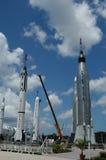 Oude raketten royalty-vrije stock fotografie