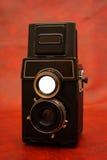 Oude reflexcamera royalty-vrije stock foto's